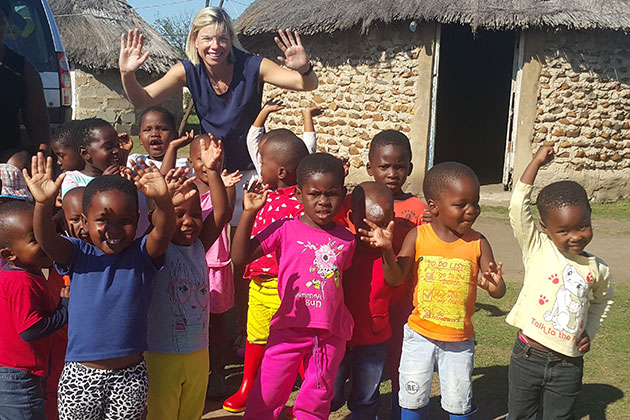 Izulu Orphan Projects welcomes generous gumboot donation